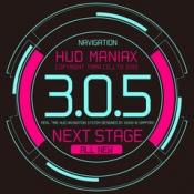 iPhone、iPadアプリ「HUD ManiaX」のアイコン