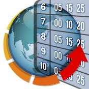 iPhone、iPadアプリ「時刻表.Locky (カウントダウン型時刻表)」のアイコン