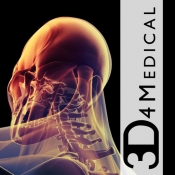 iPhone、iPadアプリ「3D4Medical Images & Animations」のアイコン