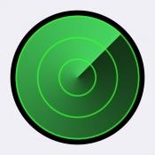 iPhone、iPadアプリ「iPhoneを探す」のアイコン