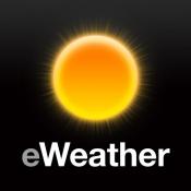 iPhone、iPadアプリ「eWeather」のアイコン