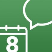iPhone、iPadアプリ「カウントダウン カレンダー 残り時間を音声読み上げ」のアイコン