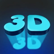 iPhone、iPadアプリ「Cool 3D Wallpapers & Backgrounds - Best Pictures For Home & Lock Screen」のアイコン
