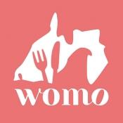 iPhone、iPadアプリ「womoグルメ(ウーモグルメ)」のアイコン