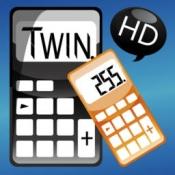 iPhone、iPadアプリ「ツイン 電卓」のアイコン