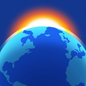 iPhone、iPadアプリ「Living Earth - Clock & Weather」のアイコン