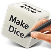 iPhone、iPadアプリ「Make Dice Lite」のアイコン