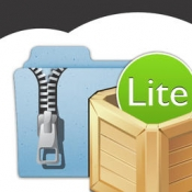 iPhone、iPadアプリ「iUnarchive Lite - Archive and File Manager with support for Dropbox, Box, Skydrive, SugarSync, WebDAV en FTP」のアイコン