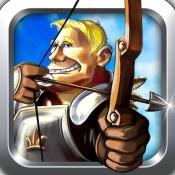 "iPhone、iPadアプリ「"" 弓と矢子供向け最高の無料のアーチェリーゲーム」のアイコン"