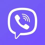 iPhone、iPadアプリ「Viber Messenger」のアイコン