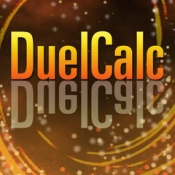 iPhone、iPadアプリ「DuelCalc」のアイコン