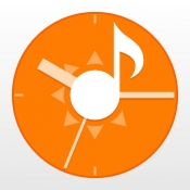 iPhone、iPadアプリ「お天気時計」のアイコン