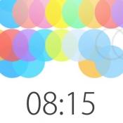 iPhone、iPadアプリ「色彩玉時計」のアイコン