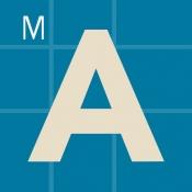 iPhone、iPadアプリ「文字入門 by Montessorium」のアイコン