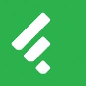 iPhone、iPadアプリ「Feedly - Smart News Reader」のアイコン