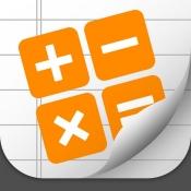 iPhone、iPadアプリ「計算ノート = 計算機 + メモ (CalcNote)」のアイコン