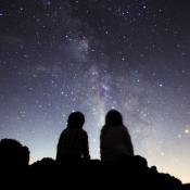 iPhone、iPadアプリ「星空のある風景写真集ー眠りたくない夜があるー」のアイコン