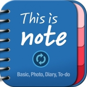 iPhone、iPadアプリ「This Is Note (Calendar + PhotoAlbums + Diary + To-do)」のアイコン