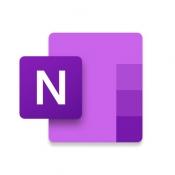 iPhone、iPadアプリ「Microsoft OneNote」のアイコン