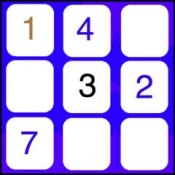 iPhone、iPadアプリ「81正方形無料、10000番号ゲーム」のアイコン