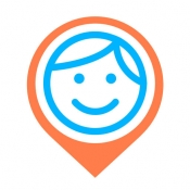 iPhone、iPadアプリ「iシェアリング - GPS 位置情報アプリ 携帯電話 追跡」のアイコン