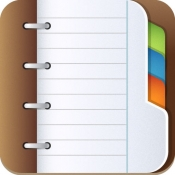 iPhone、iPadアプリ「手帳の付録」のアイコン