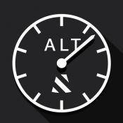 iPhone、iPadアプリ「高度計+」のアイコン