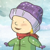 iPhone、iPadアプリ「Into the Snow: A Stella and Sam Adventure」のアイコン