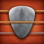 iPhone、iPadアプリ「リアル・ギター - ギターコード 練習、音楽、歌詞、 無料ゲーム と 楽器 アプリ」のアイコン