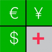 iPhone、iPadアプリ「Currency+ (Currency Converter)」のアイコン