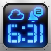 iPhone、iPadアプリ「目覚まし時計プラス - 究極のアラーム時計アプリ」のアイコン