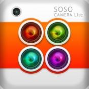 iPhone、iPadアプリ「ソソカメラLite(マルチ連写カメラ)」のアイコン