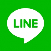 iPhone、iPadアプリ「LINE」のアイコン