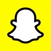 iPhone、iPadアプリ「Snapchat」のアイコン