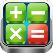iPhone、iPadアプリ「電卓 HD」のアイコン