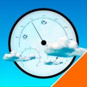 iPhone、iPadアプリ「お天気バロメーター」のアイコン