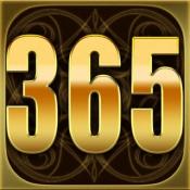 iPhone、iPadアプリ「【元祖】365日誕生日占い手帳」のアイコン