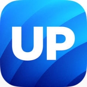 iPhone、iPadアプリ「UP by Jawbone - UP Move™, UP24™ でトラッキング」のアイコン