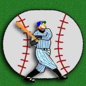 iPhone、iPadアプリ「打つだけ野球」のアイコン