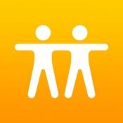 iPhone、iPadアプリ「友達を探す」のアイコン
