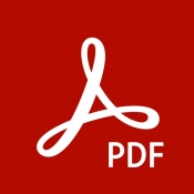 iPhone、iPadアプリ「Adobe Acrobat Reader: PDF書類の管理」のアイコン