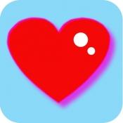 iPhone、iPadアプリ「心拍数計」のアイコン