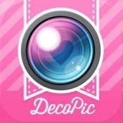 iPhone、iPadアプリ「DECOPIC-かわいい&おしゃれな無料の写真加工アプリ」のアイコン