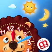 iPhone、iPadアプリ「楽しく時間をよもう - Learning to tell time is fun」のアイコン