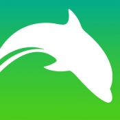 iPhone、iPadアプリ「ドルフィン ブラウザ HD - 高速のアドブロック & 簡単シンプルウェブタブブラウザー」のアイコン
