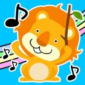 iPhone、iPadアプリ「リズムで遊ぼう!動物オーケストラ」のアイコン