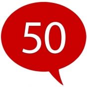 iPhone、iPadアプリ「50カ国語 - 50languages」のアイコン