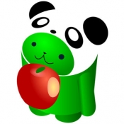 iPhone、iPadアプリ「上野動物園ナビ」のアイコン