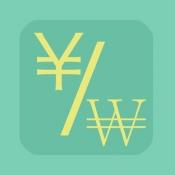 iPhone、iPadアプリ「日韓為替レート」のアイコン