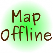 iPhone、iPadアプリ「MapOffline」のアイコン